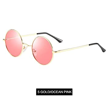 CCGKWW Gafas De Sol Polarizadas Hombres Metal Pequeño ...