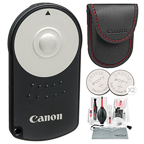 Canon RC-6 Wireless Remote Control with Xpix Deluxe Camera Cleaning Kit ()