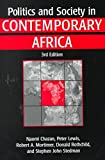 Politics and Society in Contemporary Africa, Chazan, Naomi and Lewis, Peter, 155587679X