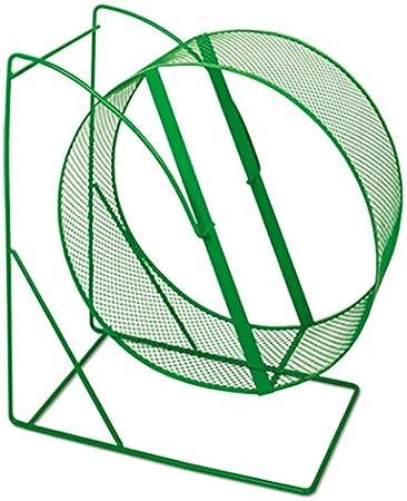 Nobby - Rueda de metal para hámster, 28 cm, 1 unidad [colores surtidos]