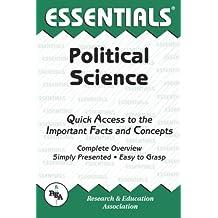 Political Science Essentials (Essentials Study Guides)