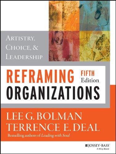 reframing organizations - 2