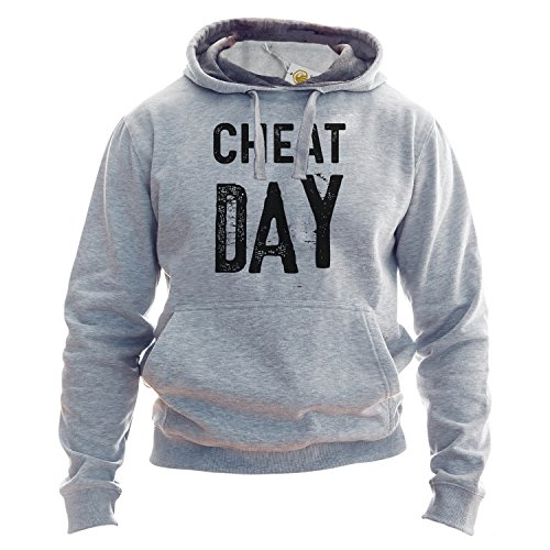 Cheat Day Hoodie No Diet Today Fitness Life Funny Sports Pullover