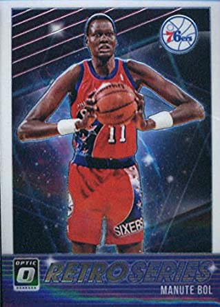 031d8b623 2018-19 Donruss Optic Retro Series  19 Manute Bol Philadelphia 76ers  Official NBA Basketball