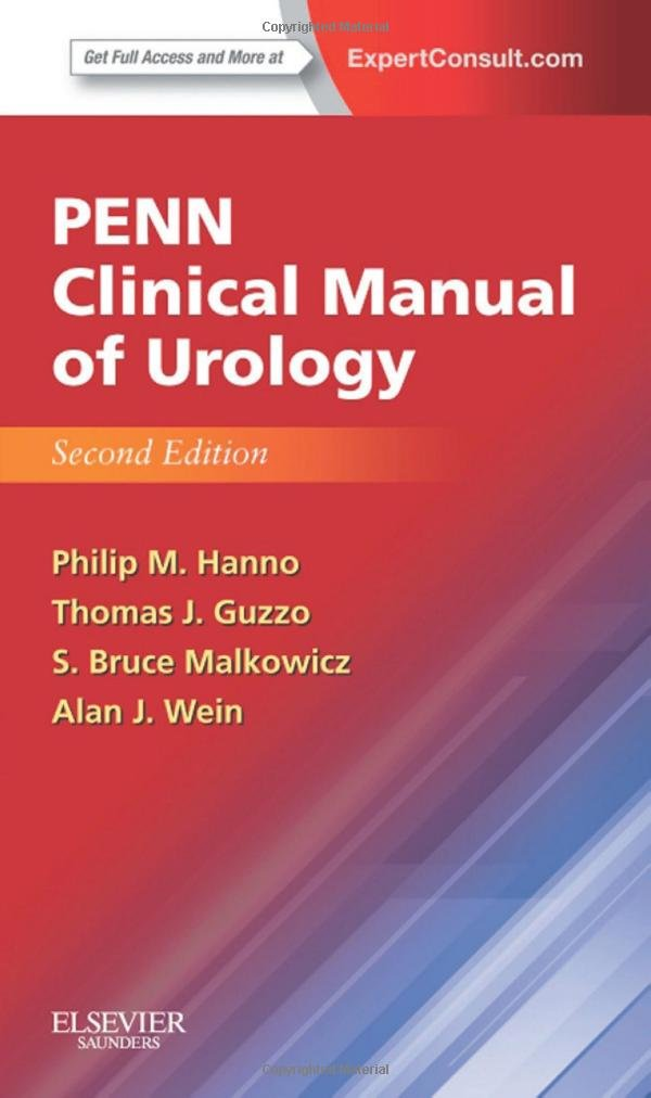Penn Clinical Manual Of Urology  Expert Consult   Online And Print