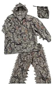 Amazon.com : Natural Gear 3D Leafy Hunting Suit (Men's ...