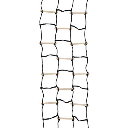 Amazon Com Backyard Obstacle Course Kit Climbing Cargo Net For Kids
