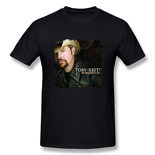 amazon com johnha men s toby keith 35 biggest hits cotton t shirts