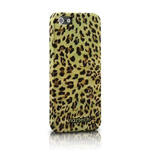 Naztech Safari SnapOn - Carcasa para iPhone 5 y 5S, diseño piel de guepardo