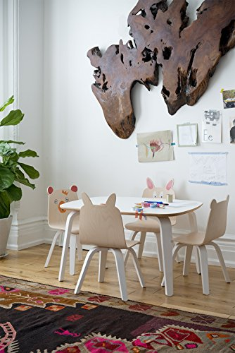 Oeuf Rabbit Play Chairs and Table Set in Walnut by Oeuf Nursery Cribs and Furniture (Image #3)