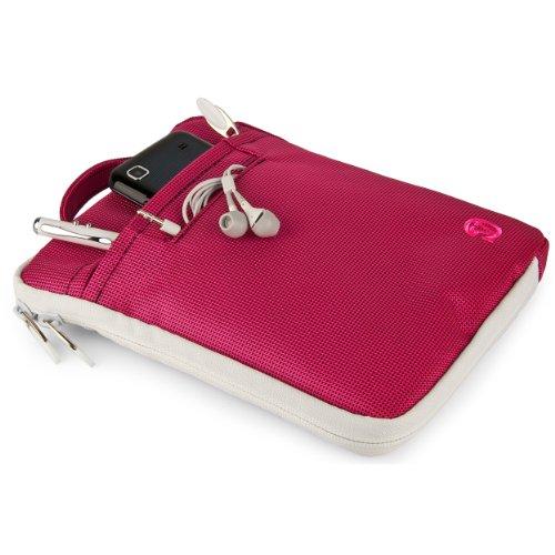 VanGoddy Hydei Shoulder Bag Case for Lenovo Tab 2 7 to 8 inch Tablets, Magenta