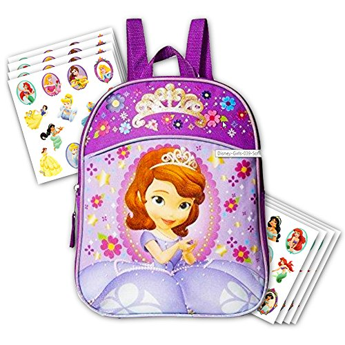Disney Toddler Preschool Backpack 10 inch Mini Backpack (Sofia the First)