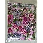 PERFECTBLUE Women's Blend Linen Saree with Unstitched Blouse Piece