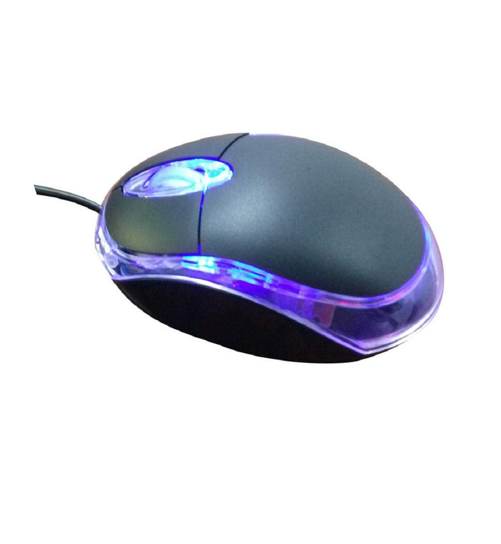DEESEE(TM) New Design 1200 DPI USB Wired Optical Gaming Mice Mouse For PC Laptop (A) by DEESEE(TM)_Cell Phone Accessories (Image #3)