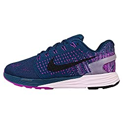 Nike Womens Lunarglide Sneakers EUR 38 Black and Pink