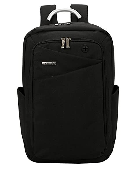 Mochila Mochila de Oxford Casual Backpack Laptop Mochila para Ordenador Portátil 15.6 Pulgadas, USB Charging