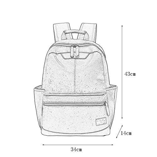 del Bolso del C de Estudiante Backpack Oxford la Mochila Impermeable Bolso Bolso Recorrido del de la del de Mochila dn00zRUp