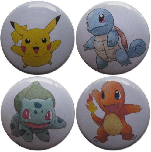 (Pokémon 1.25 Inch Magnet Set)