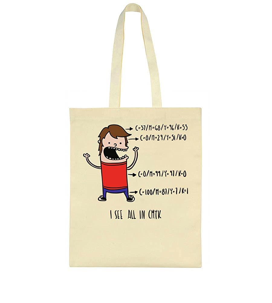 idcommerce I See All In CMYK colors Tote Bag