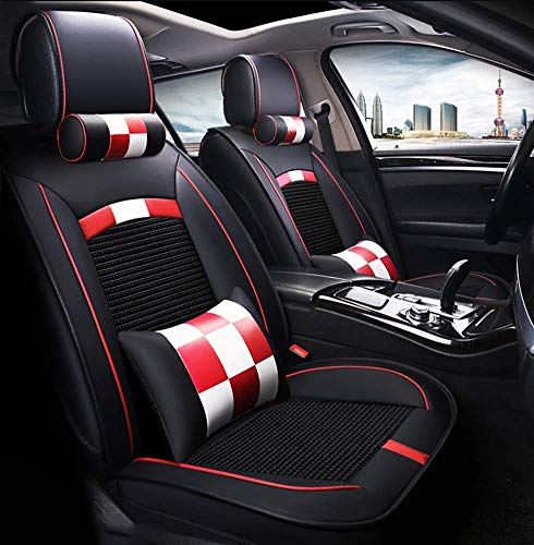 Phcom Leather Ice Silk Car Seat Cover - Non-slip suede lining for general purpose, fabric and leather car seats,B,D: Amazon.co.uk: Sports & Outdoors