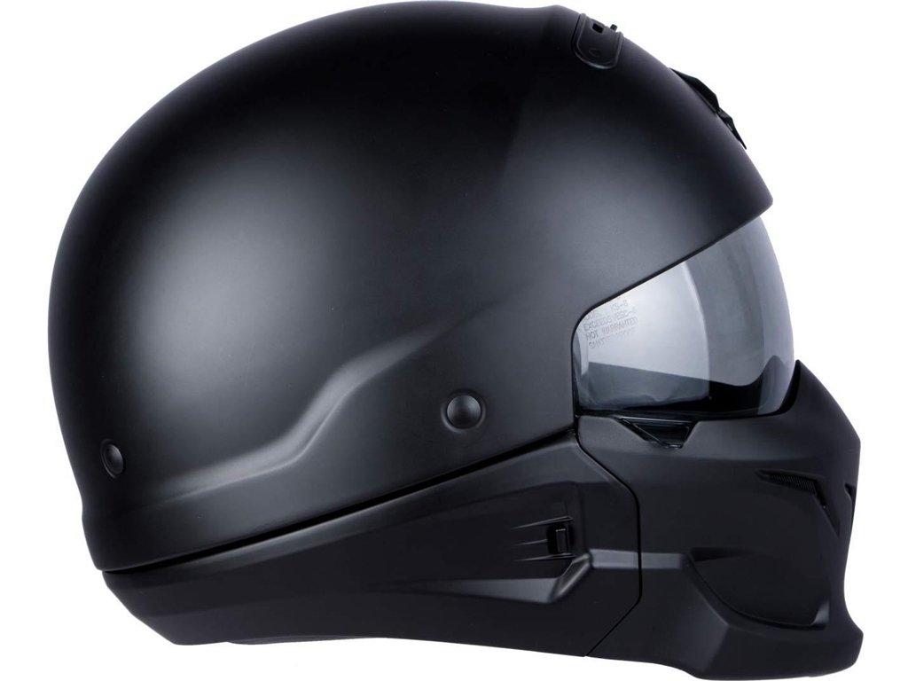 Casque moto Scorpion EXO COMBAT Noir Mat Scorpion