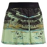 adidas Ny Tennis Skirt, Glow Green/Black, XX-Small