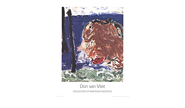 """DON VAN VLIET Parapliers the Willow Dipped 35.5/"""" x 27.5/"""" Poster Expressionism"""