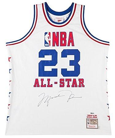 timeless design 0f8ab 99271 Amazon.com: MICHAEL JORDAN Autographed 1985 NBA All Star ...