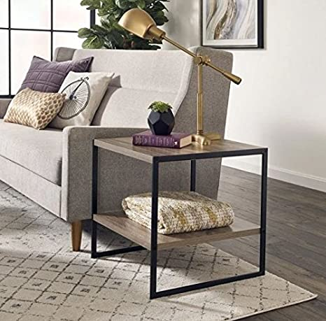 Amazon.com: Mesa auxiliar industrial con mesa auxiliar de ...