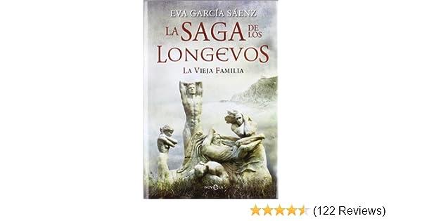 La saga de los longevos: EVA GARCÍA SÁENZ: 9788499707501: Amazon.com: Books
