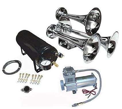 51OMFyflGrL._SX425_ amazon com viking horns v103c 5 307 loud train air horn kit automotive