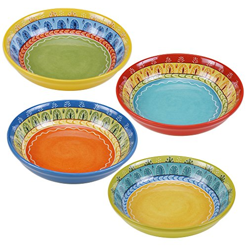 Certified International Valencia Soup/Pasta Bowl (Set of 4), 9.25