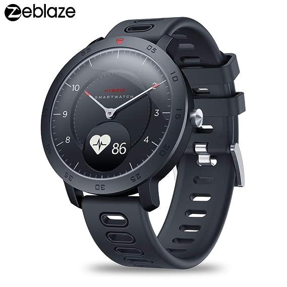 Zeblaze Hybrid Smartwatch 5ATM Reloj Deportivo a Prueba de Agua ...