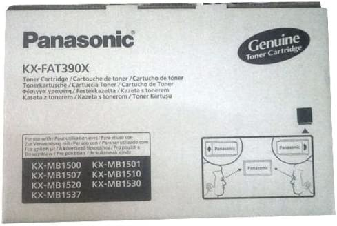 Panasonic KX-FAT390X - Tóner para impresoras láser, Negro