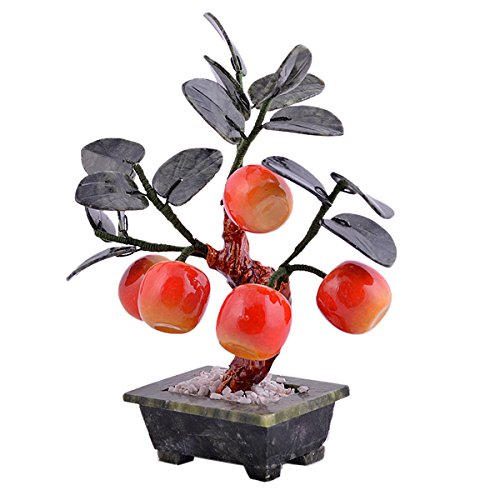 Feng Shui Jade Apple Plant for Peace+ Free Red String Bracelet ()