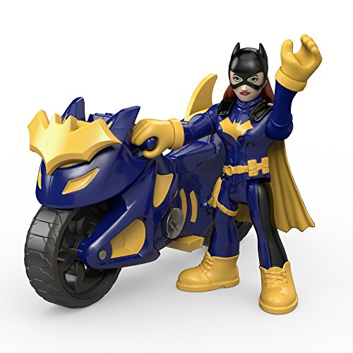 Fisher-Price Imaginext DC Super Friends, Batgirl & Cycle -
