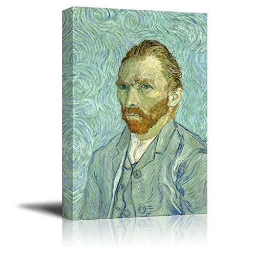 Portrait of Vincent Van Gogh Inspirational Famous People Series