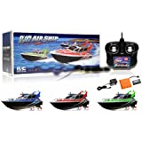 New 4 Channel RC Remote Control AirShip Boat (COLORS VARY SENT AT RANDOM)