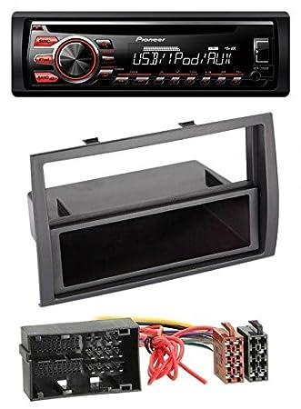 Pioneer deh-2700ui CD MP3 USB AUX Radio de coche para Citroen Jumper, Fiat Ducato, Peugeot Boxer a partir de 2014: Amazon.es: Electrónica