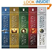#7: George R. R. Martin's A Game of Thrones 5-Book Boxed Set (Song of Ice and Fire Series): A Game of Thrones, A Clash of Kings, A Storm of Swords, A Feast for Crows, and A Dance with Dragons