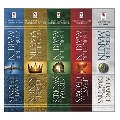 George R. R. Martin's A Game of Thrones 5-Book Boxed Set (Song of Ice and Fire Series): A Game of Thrones, A Clash of Kings, A Storm of Swords, A Feast for Crows, and A Dance with Dragons Kindle Edition - 51OMI4Jez3L - George R. R. Martin's A Game of Thrones 5-Book Boxed Set (Song of Ice and Fire Series): A Game of Thrones, A Clash of Kings, A Storm of Swords, A Feast for Crows, and A Dance with Dragons Kindle Edition