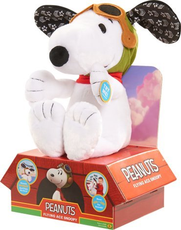 Price comparison product image Snoopy Peanuts Flying Ace Plush