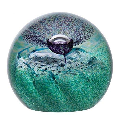 Caithness Glass Flower of Scotland Paperweight 70mm (ht) x 75mm