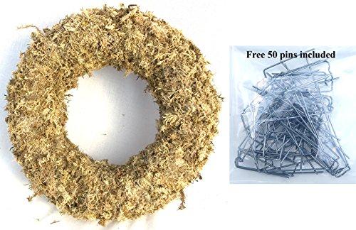 Sphagnum Moss Wreath - 9