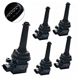 xc90 ignition coil - Carrep Ignition Coil Coils Pack of 5 for Volvo C70 S60 S70 S80 V70 XC70 XC90 UF341