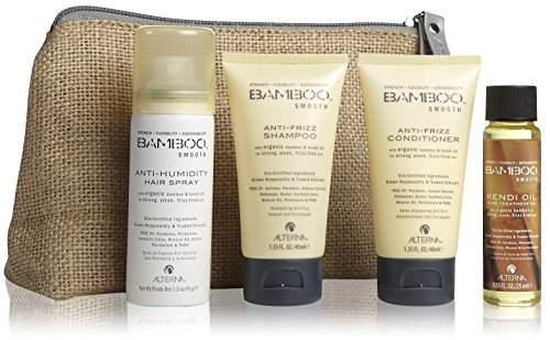 Alterna Bamboo Smooth On The Go 4 Piece Travel Kit for Unisex by Alterna