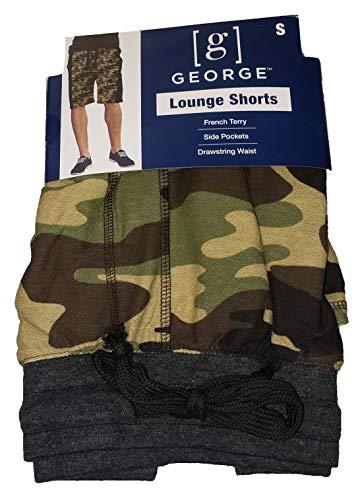 Jams Sleep Shorts - Camo Camouflage Sleep Lounge Jam Shorts - Large