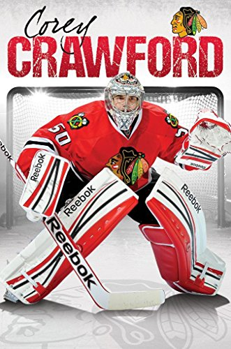 Corey Crawford Chicago Blackhawks NHL Sports Poster 22 x 34in