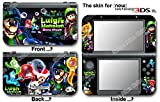 Luigi 's Mansion Dark Moon Hot Skin Sticker Cover Decal for NEW Nintendo 3DS XL