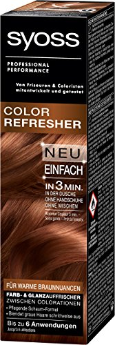 Syoss Color Refresher Haarfarbe Warme Braunnuancen 3er Pack 3 X